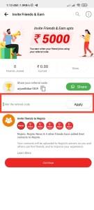Nojoto App Refer Earn Offer