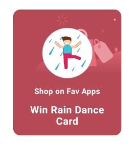 Paytm Rain Dance Card Free
