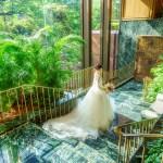 椿山荘結婚式 大理石ショット