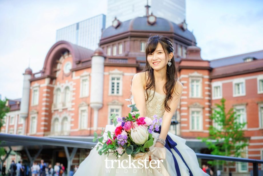 東京駅結婚式前撮り