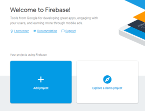 welcome firebase iot