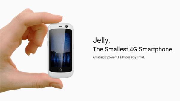 World's smallest 4G Smartphone