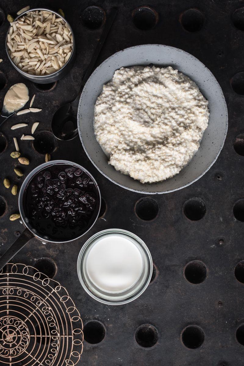 hirse porridge mandelmilch trickytine