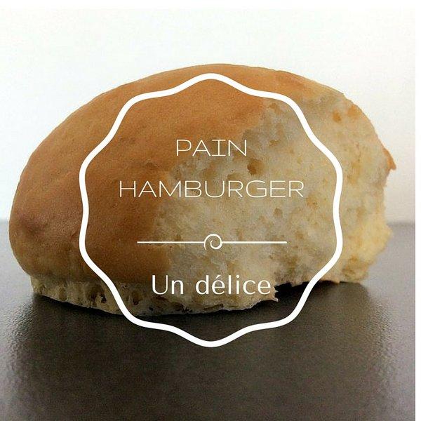 recette PAINS HAMBURGER