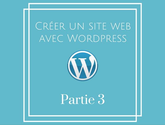 Créer un blog avec WordPress