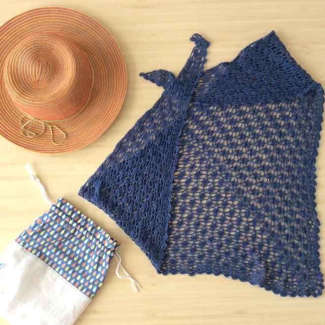 chale au crochet lace