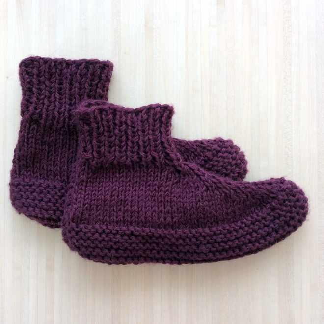 Paire de chaussons