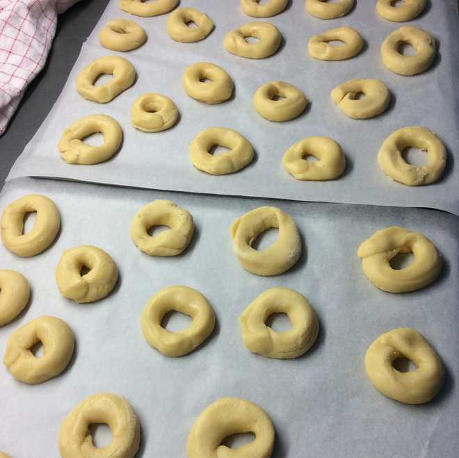 recette biscuits avant passage au four