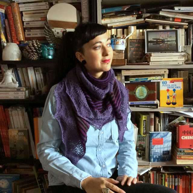 Lady Patience violet tricot