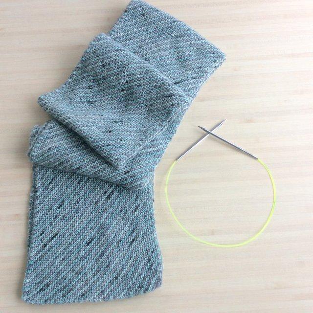 écharpe à rayures tuto gratuit free pattern
