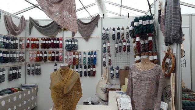 Festival Le fil de la Manche - stand froufrou et capucine