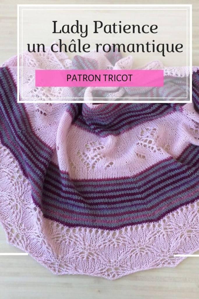 Lady Patience patron de châle au tricot