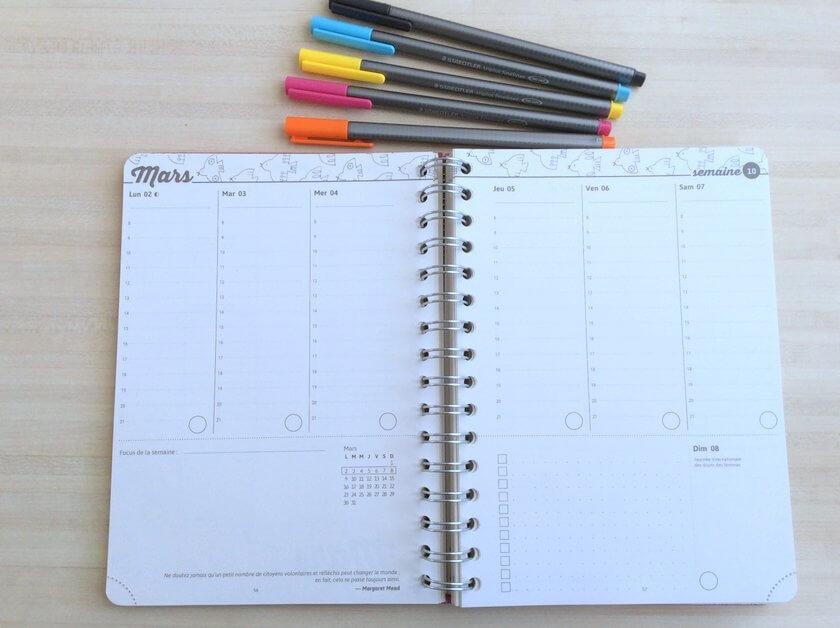bullet agenda planning