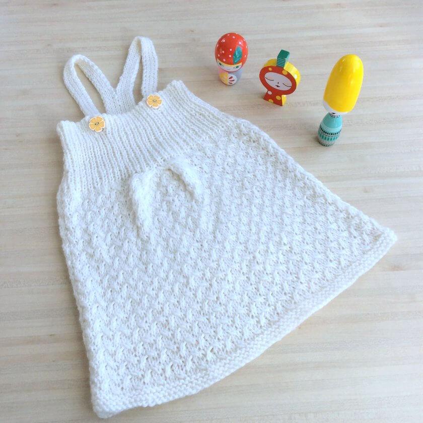robe pour fillette 6 mois tricot