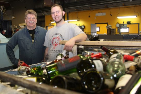 What's energizing this long-time Vecova Bottle Depot social enterprise worker?