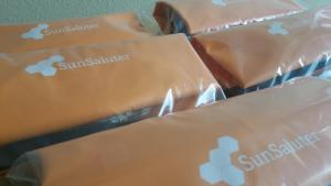 SunSaluters ready for shipping. Source: The SunSaluter