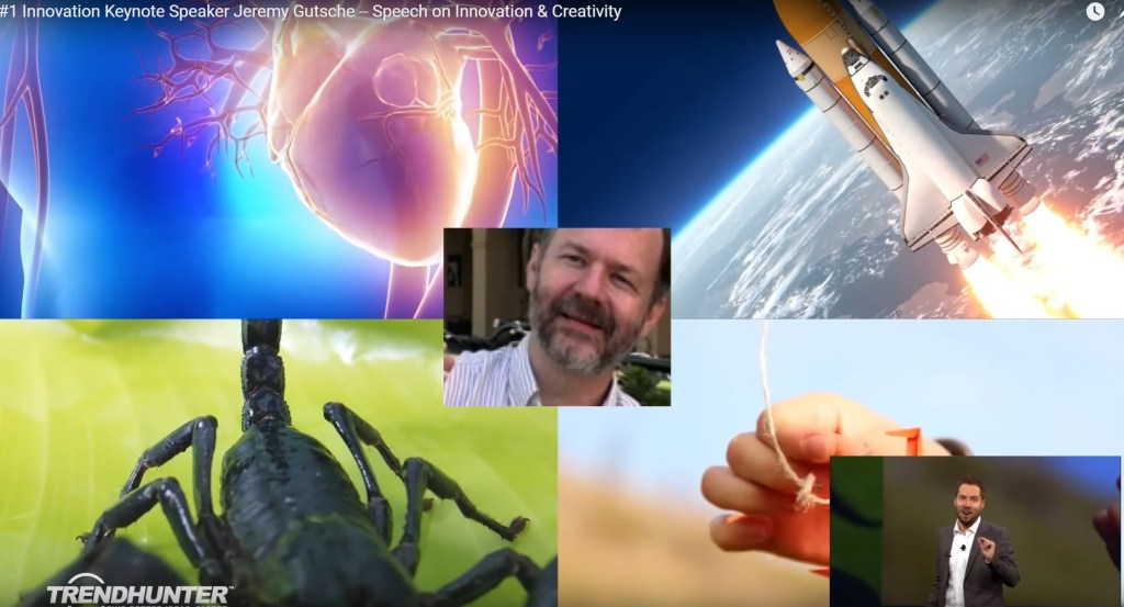 Jeremy knits up heart surgery, rocket science, origami and Robert Lang in his amazing keynote