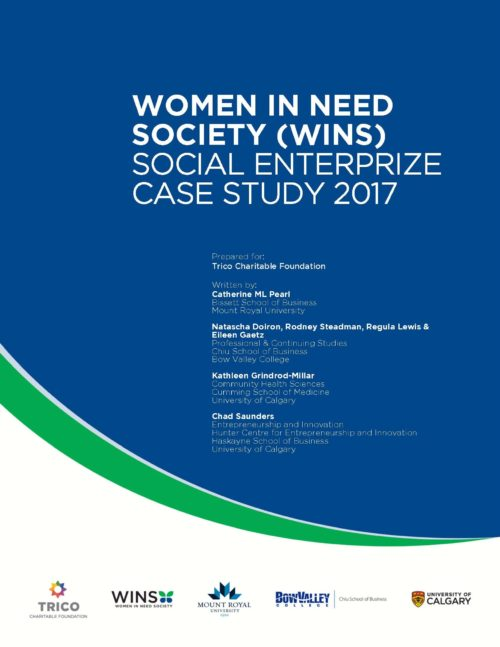 Women in Need Society (WINS): Social EnterPrize Case Study