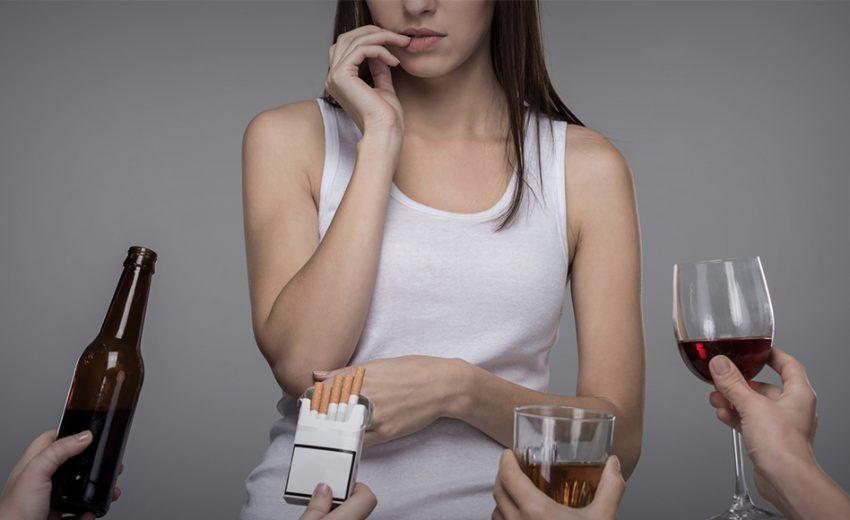 gli effetti dell'alcol sui capelli