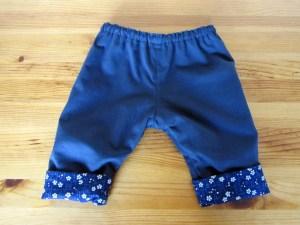 pantalon bebe reversible les