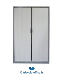 armoire metallique majencia gris occasion