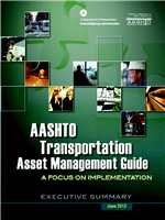 Cover of AASHTO Transportation Asset Management Guide: A Focus on Implementation