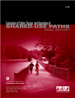 Cover of Evaluation of Safety, Design, and Operation of Shared-Use Paths―Final Report