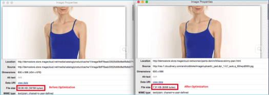 Page load time can be decreased by optimizing images