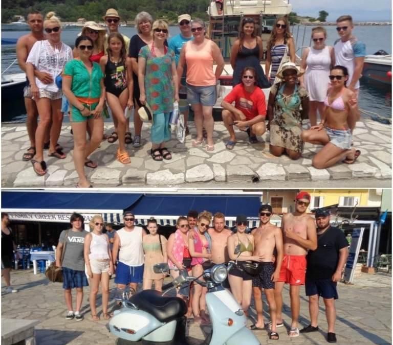 Paxos and Blue Lagoon Cruises 17 6 2017