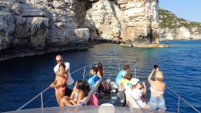 Paxos Sunset Cruise 5 8 2018 On the boat (27)
