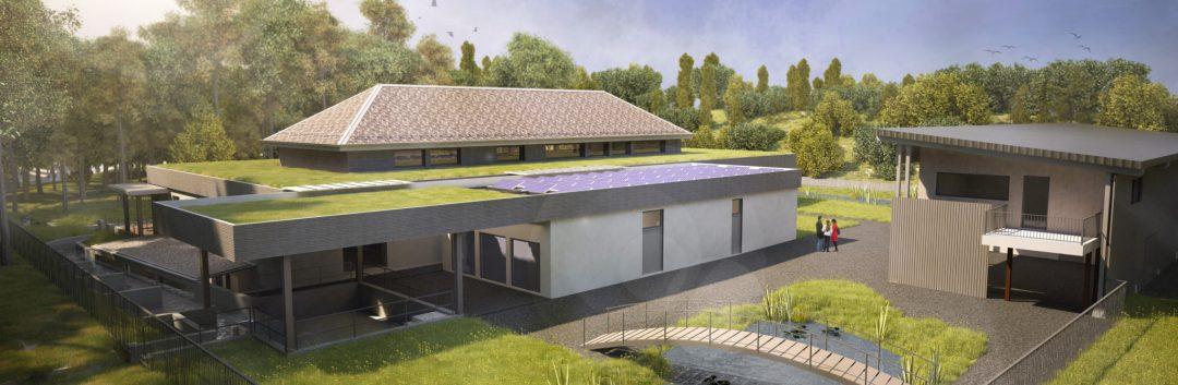Image de synthèse Maison de la Rivière