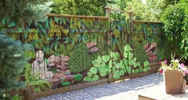 весёлый забор