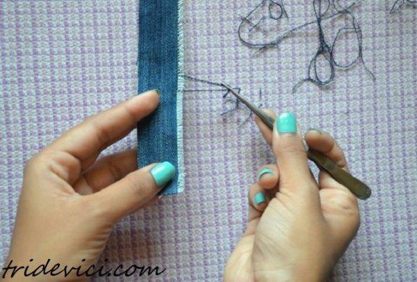 браслет из джинсов (3)