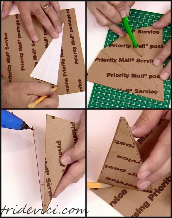 ёлка из бумаги (2)
