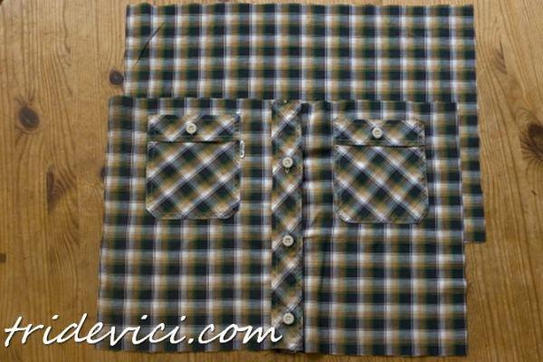 подушка из рубашки (3)