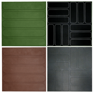 Rubber Floor Tile Levely