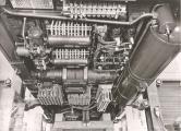 <h5>Blick unter den Wagenboden</h5><p>Montageaufnahme der MFO</p>