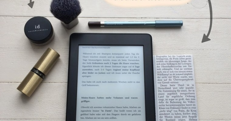 Blogs and News on the Kindle (and other eBook readers)