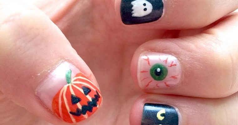 From pumpkins and ghosts – Halloween Nails 2014
