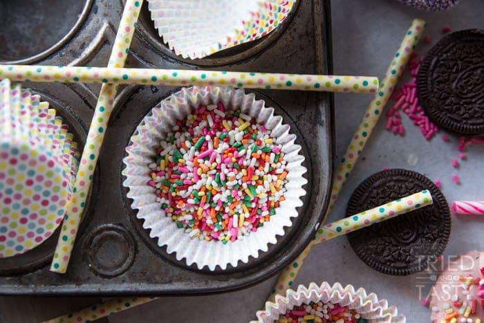 Birthday Party Oreo Pops // Tried and Tasty