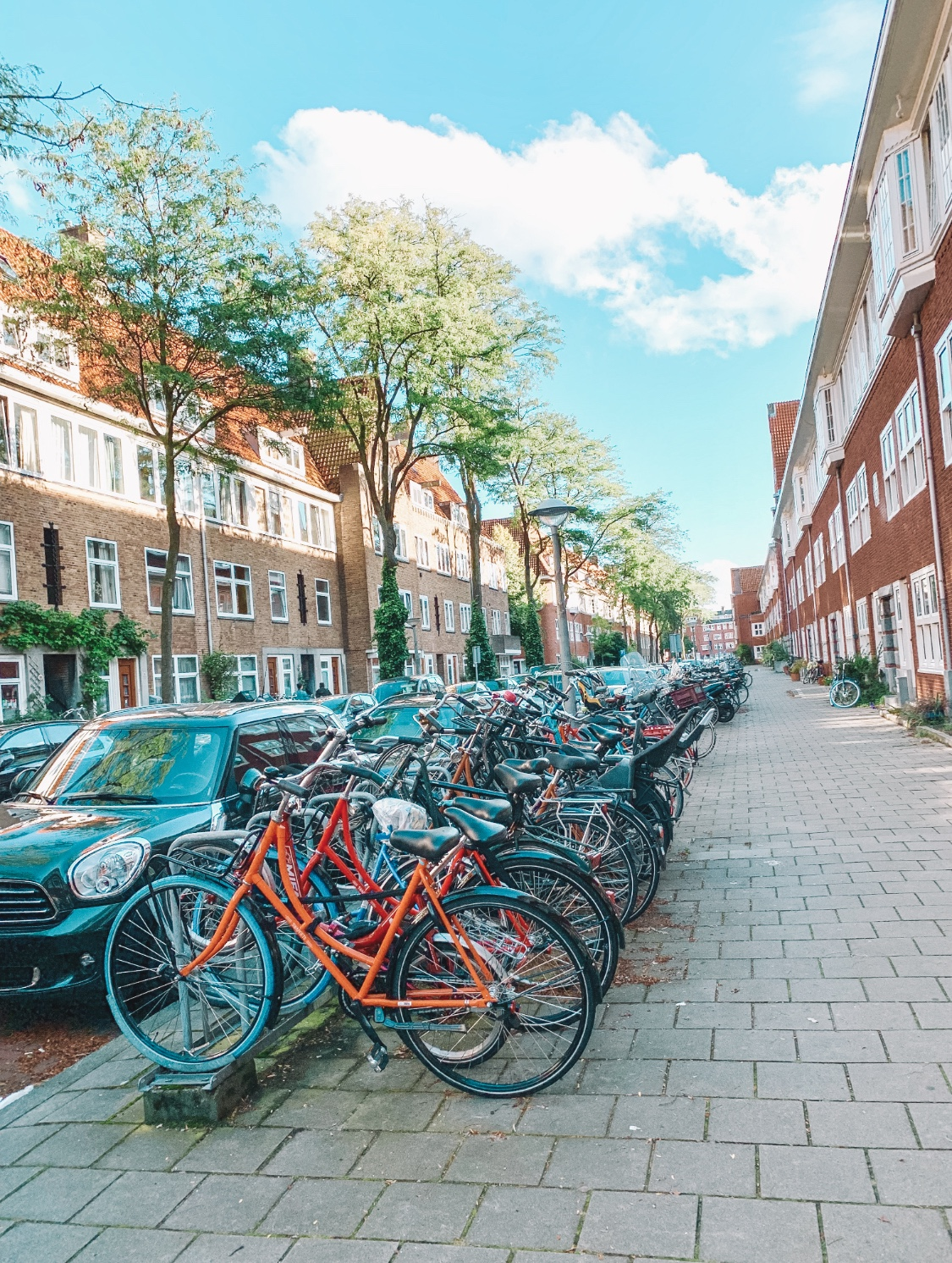 Things to do in Amsterdam - explore the streets and take a bike ride