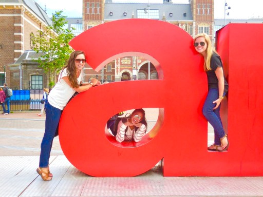 Things to do in Amsterdam - I Amsterdam letters