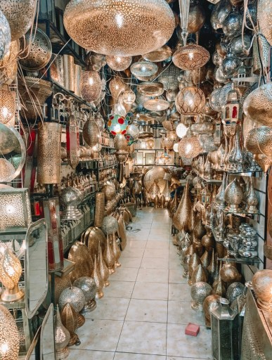 Lantern Souks in Marrakech
