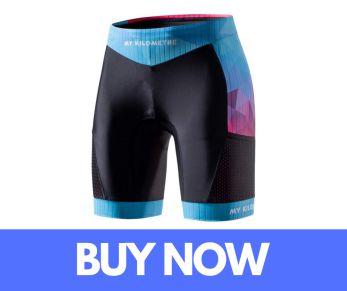 MY KILOMETRE Tri Shorts with Side Pockets