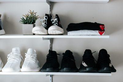 Rangement chaussures konmari