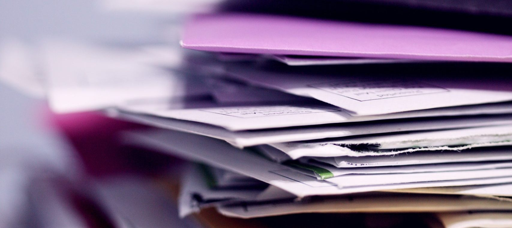 Pile papiers