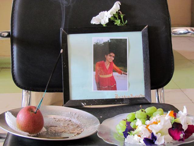 Memorial for Bujana…