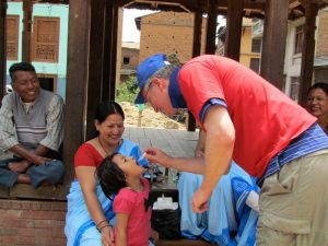 Polio Immunization in Nepal