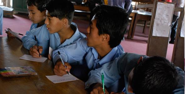Durbar School the oldest public school in Nepal