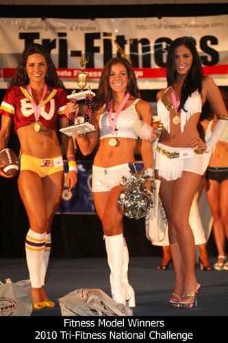 Tri-Fitness Model Winners